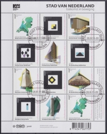 NVPH V2802-2812  ''Stad van Nederland'' 2011  Gestempeld cataloguswaarde 14,00 A-0811