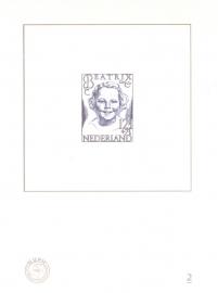 NVPH BD2 Blauwdruk  2005 Cataloguswaarde 5,00