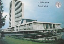 Jaarset 1990 Koninklijke Ned. Munt in boekvorm FDC