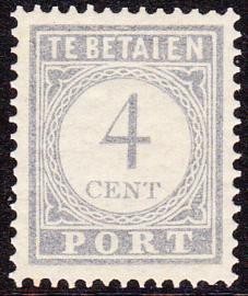 Port P49Abf foutdruk I ipv L bij betalen in Postfris Cataloguswaarde 225,00++