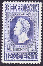 NVPH   94 Jubileum 1913 helder blauw Postfris Cataloguswaarde 9.00