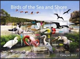 NVPH    76 Kust en zeevogels Curacao 2012 Postfris A-0263