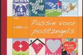 Prestigeboekje PR 19  Passie voor Postzegels  cataloguswaarde 16,00