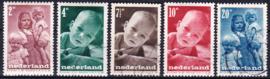 NVPH  495-499 Kinderpostzegels 1947 gebruikt