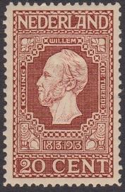 NVPH   95 Jubileum 1913 Ongebruikt  Cataloguswaarde 15.00  E-4367