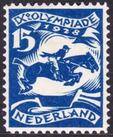 Plaatfout  218 PM5  Olympiade 1928 Ongebruikt Cataloguswaarde 110.00
