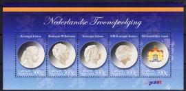 NVPH    33 Nederlandse Troonopvolging Postfris A-0260
