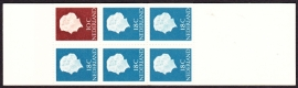 Postzegelboekje  3  LuXe Postfris  Cataloguswaarde 3,50 A-2011