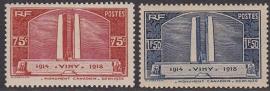 Mi:  322-323 Postfris Cataloguswaarde 36,00 E-5537