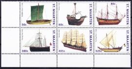 NVPH   47-52 Schepen Postfris  E-2728