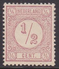 NVPH   30FII  Cijferzegel Ongebruikt  cataloguswaarde 15.00 E-4631