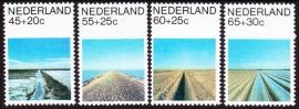 NVPH  1216-1219  Zomerzegels 1981  Postfris