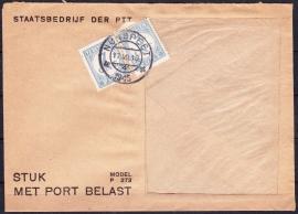 Poststuk '' Stuk met port belast''