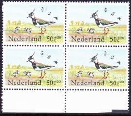 Plaatfout  1301 PM  Postfris in blok van 4 Cataloguswaarde 11,00  E-6230