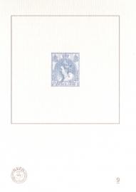 NVPH BD9 Blauwdruk  2011 Cataloguswaarde 5,00