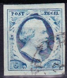 NVPH   1 Koning Willem 3 gebruikt Cataloguswaarde 45.00 E-2734