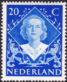 Plaatfout  507 PM  Postfris  Cataloguswaarde 25,00