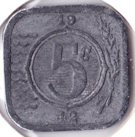 5 cent 1942 (Pracht)
