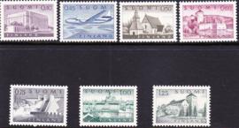 Finland 1963: Michel 562x-568x  Postfris
