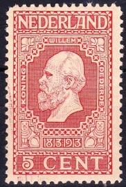 NVPH   92 Jubileum 1913 Postfris Cataloguswaarde 3.00  E-2645
