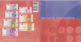 Introductie Euro setje ter kennismaking van de euro  2001 UNC