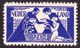 Plaatfout  134 PM Postfris Cataloguswaarde 160.00  E-3065