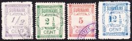 NVPH 65-68 Hulpuitgifte Gebruikt Cataloguswaarde 25.00 E-3366