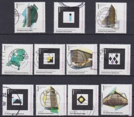 NVPH 2802-2812  ''Stad van Nederland'' 2011  Gestempeld cataloguswaarde 10,80 A-0813