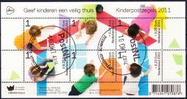 NVPH 2886 Kinderzegels 2011 Gestempeld E-2614