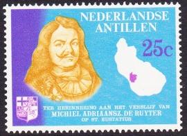 Plaatfout Ned. Antillen 371 P Postfris E-3276