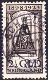 NVPH  130 Regeringsjubileum gebruikt Schiedam Cataloguswaarde: 275.00