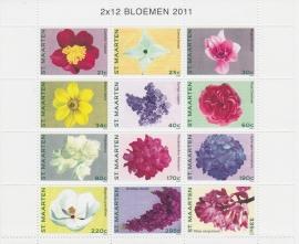 NVPH    16-27 Bloemen Postfris  A-0747