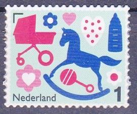 NVPH 3272 Geboortezegel 2015 gestanst Postfris  A-0969