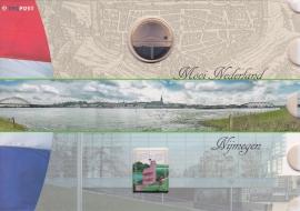NVPH 2323 Mooi Nederland Nijmegen in speciale uitgifte met munt