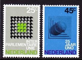 NVPH  973/974 Gelegenheidszegels Postfris