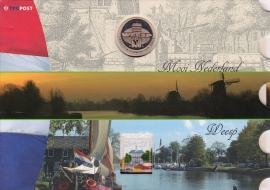 NVPH 2341 Mooi Nederland Weesp in speciale uitgifte met munt