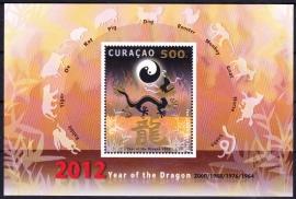 NVPH    75 Jaar van de draak Curacao 2012 Postfris A-0262