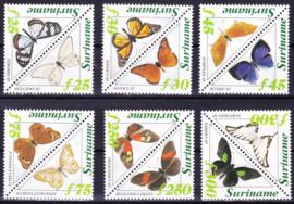 ZNB  808-819 Vlinders 1994 Cataloguswaarde 22,00