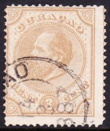 NVPH  2B Koning Willem III Gebruikt Cataloguswaarde: 150.00