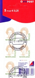 NVPH V2036 Koningin Beatrix  2002  Gestempeld cataloguswaarde 2,50 E-2751