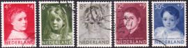NVPH  702-706 Kinderpostzegels 1957 Gebruikt