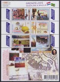 NVPH V2658-2663B Grenzeloos Nederland-Brazilie 2009  Postfris A-0847