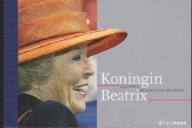 Prestigeboekje PR 7  Zilveren regeringsjubileum cataloguswaarde 18,00