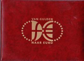 HERINNERINGSMAPJE ''VAN GULDEN NAAR EURO'' INC 2 ENVELOPPEN