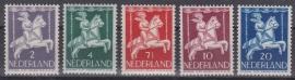 NVPH  469-473 Kinderzegels  1946 Postfris cataloguswaarde: 3,00
