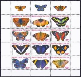 NVPH 2000-2011 Vlinders Postfris  A-0189