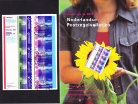 Jaargang 2001 VELLETJES Compleet GESTEMPELD in originele verpakking