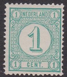 NVPH  31A Cijfer Postfris Cataloguswaarde 20.00  E-4593