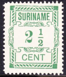 Plaatfout Suriname 66a type 2 P  Ongebruikt