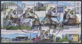 NVPH 2790  Mooi Nederland Eindhoven 2011  Gestempeld cataloguswaarde 5,00 A-0817